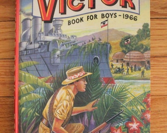 The Victor Book For Boys (1966)