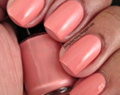 Sunset Boulevard - Peach Coral Pink Creme Nail Polish