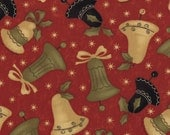 1/2 Yard - Merry Medley - Berry Bells by Sandy Gervais for Moda Fabrics