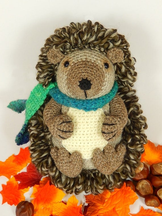 Hedley the Hedgehog - Amigurumi Crochet Pattern. from ...
