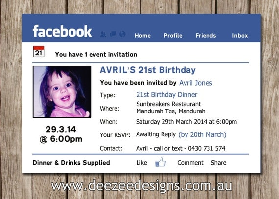 facebook party invite at expertreview, Party invitations