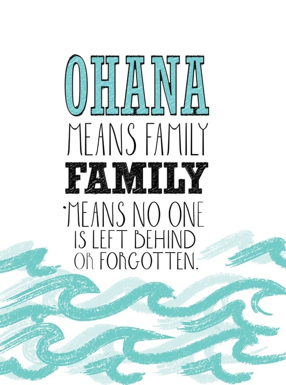 stitch ohana quote wallpaper - photo #8