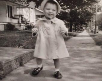 Original Antique Photograph Baby Boo 1954