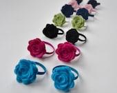 Pick 4 ponytail holders or 2 pigtail sets
