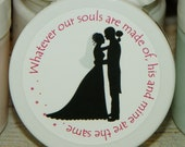 Wedding or Bridal Shower Favors - Personalized Whipped Body Butter (Bridal Silhouette - Design No. 5) - 2 oz - Paraben Free