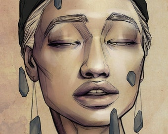 Anamnesis - fine art print LARGE