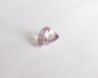Natural Light Pink Kunzite, Unheated, Trillion Cut, 9.25 carats