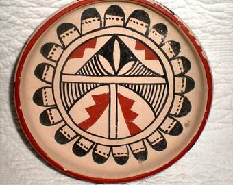 Jemez Pueblo Pottery Dish