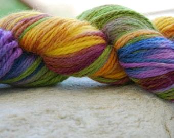 handdyed yarn -  100g/3,5 oz. -  Colour 39d