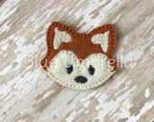 Uncut Fox Felties- Set of 4