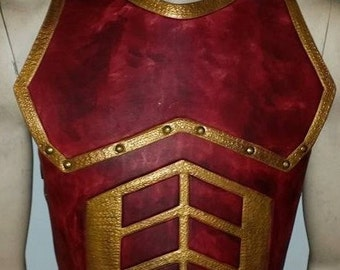 Leather Armor Juggernaut Chest and Back