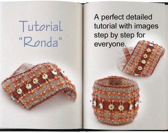 Jewelry Tutorial.... Ronda.. Bracelet