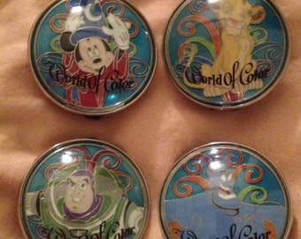 Disney Pins - Lot of 4 - Cheap - World of Color