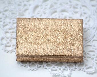 Vintage Helena Rubinstein Gold Mirror Compact