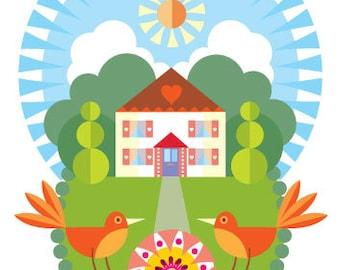 Home Sweet Home print 3