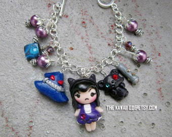 League of Legends Charm bracelet design your own Made to order