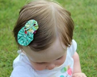 Yo-Yo Hair Clips Set of Two: Lola's Collection