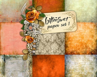 Bittersweet PAPER SET 1 - Digital Scrapbooking