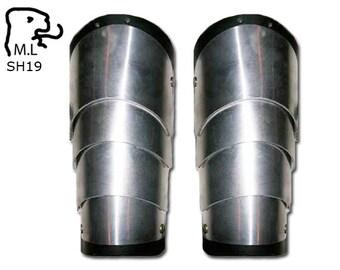 New shoulder pauldron Rerebrace Medieval stainless steel Armor Larp SH19