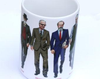 Famous Male Psychologist Researchers Mug
