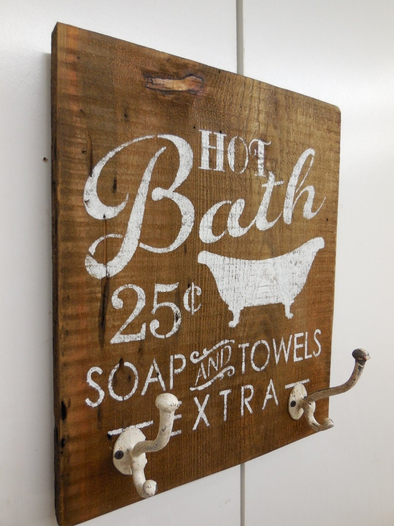 Bath Hook Towel Rack Bathroom Sign Bath Towel Hooks Hot
