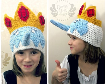 ALL SIZES Ice King Insprired Beanie
