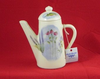 tea pot syrup server