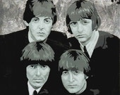 The Beatles Vectored Art