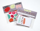 TINY Love Cards, Set of 10: Today I Love You Because... by Emily McDowell / No. 194-T