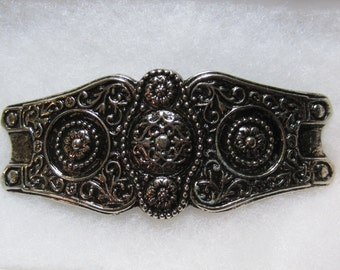 Unique Cast Silver Metal Buckle