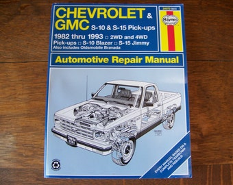 Vintage Haynes Chevrolet & GMC Automotive Repair Manual 1994.  Chevrolet Truck. Chevy Truck. Chevrolet Catalog. Chevrolet Blazer. Chevy