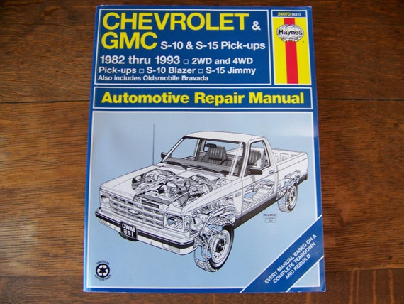 chevy truck owners manual pdf