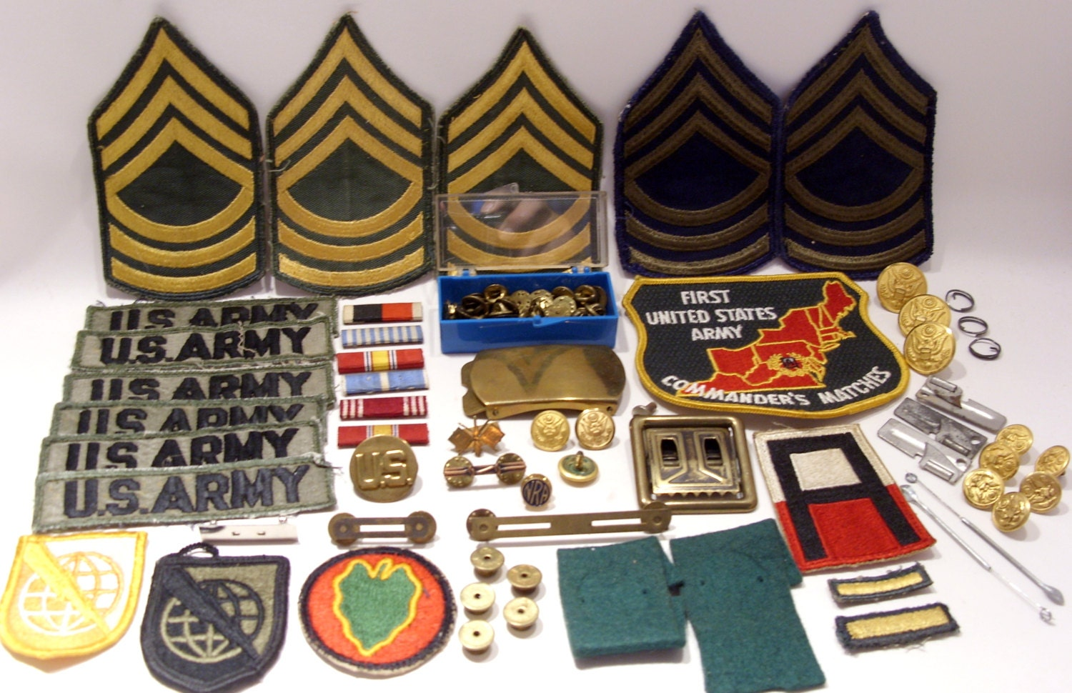 Us army korean war germany patches