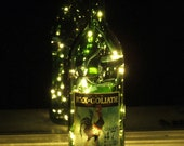Rex Goliath  Wine Bottle Light with white lights
