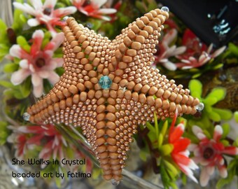 Sea Star - TUTORIAL - all about the shape
