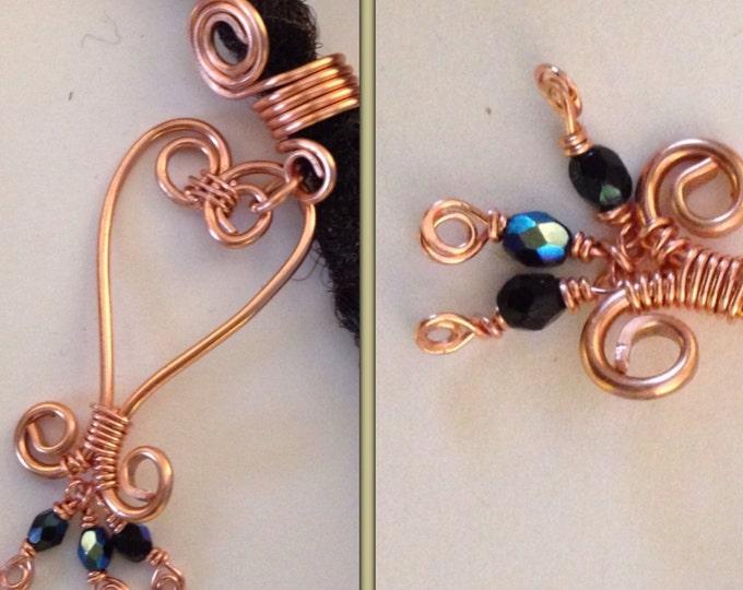 Sankofa Copper  Dreadlock Bead Accessories