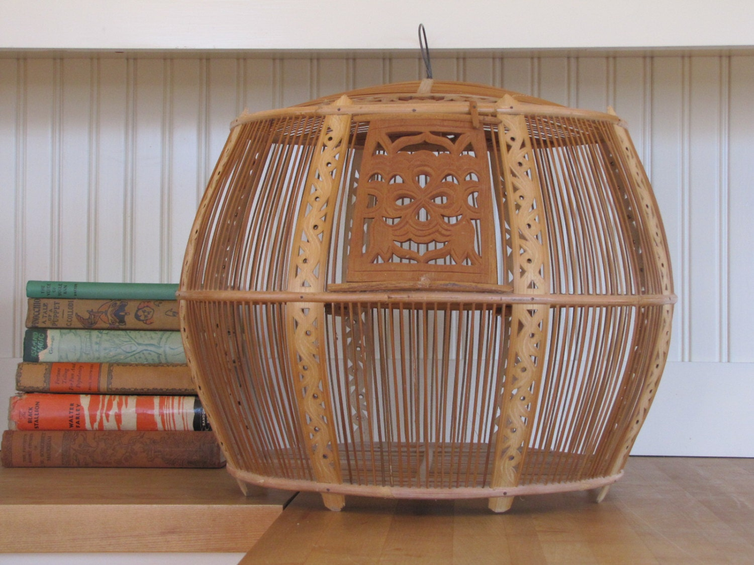 Reserved Please Do Not Buy Asian Wooden Bird Cage Tunisian