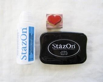 Stazon Cleaner - Stazon All Purpose Stamp Cleaner - Solvent Ink Cleaner - Stazon Dauber Top Bottle 2 ounce - Stazon Spray Bottle 2 ounce