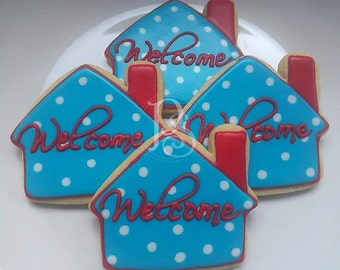Housewarming - Welcome Home Sugar Cookies