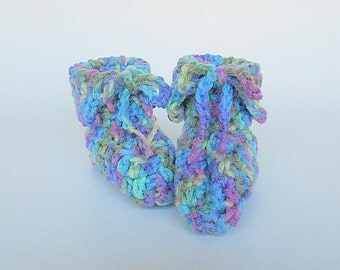 Baby Boy Booties Infant Girl  Slippers 3 To 6 Months Children Purple  Blue Yellow Crib  Shoes