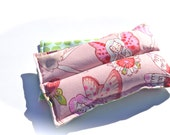 Natural Herbal Heating Pad, Spring Allergies, Pink Fairies Heat Pack, Lavender Aromatherapy