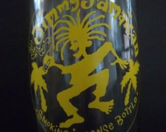 Jimmy Jamaican Incense Burner Bottle for Stick Incense - Vintage Home Decor