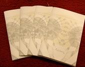 Projections Sketchbook Compilation homemade art booklet/zine