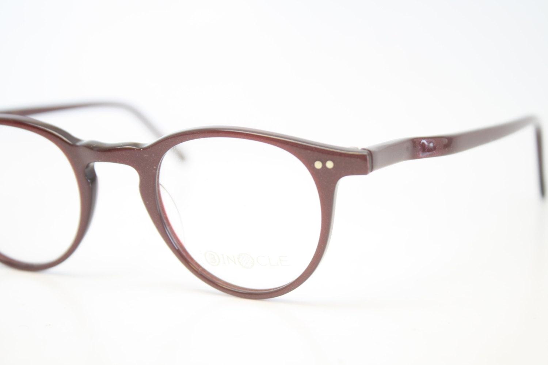 Eyeglasses Frames Purple : Vintage Eye Glasses Purple P3 Eyeglasses Retro by PinceNezShop