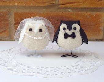 Fabric Wedding Owls - NEW