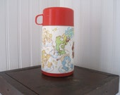 Vintage Care Bear thermos, 1985