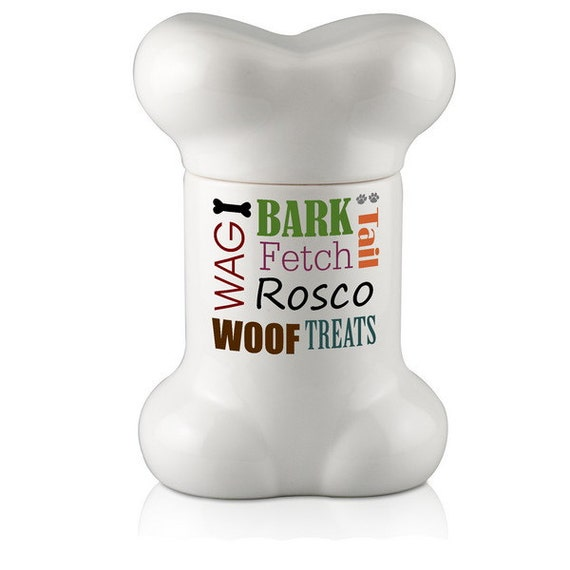 Dog Treat Jar USA