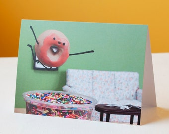 Party Like a Donut Card