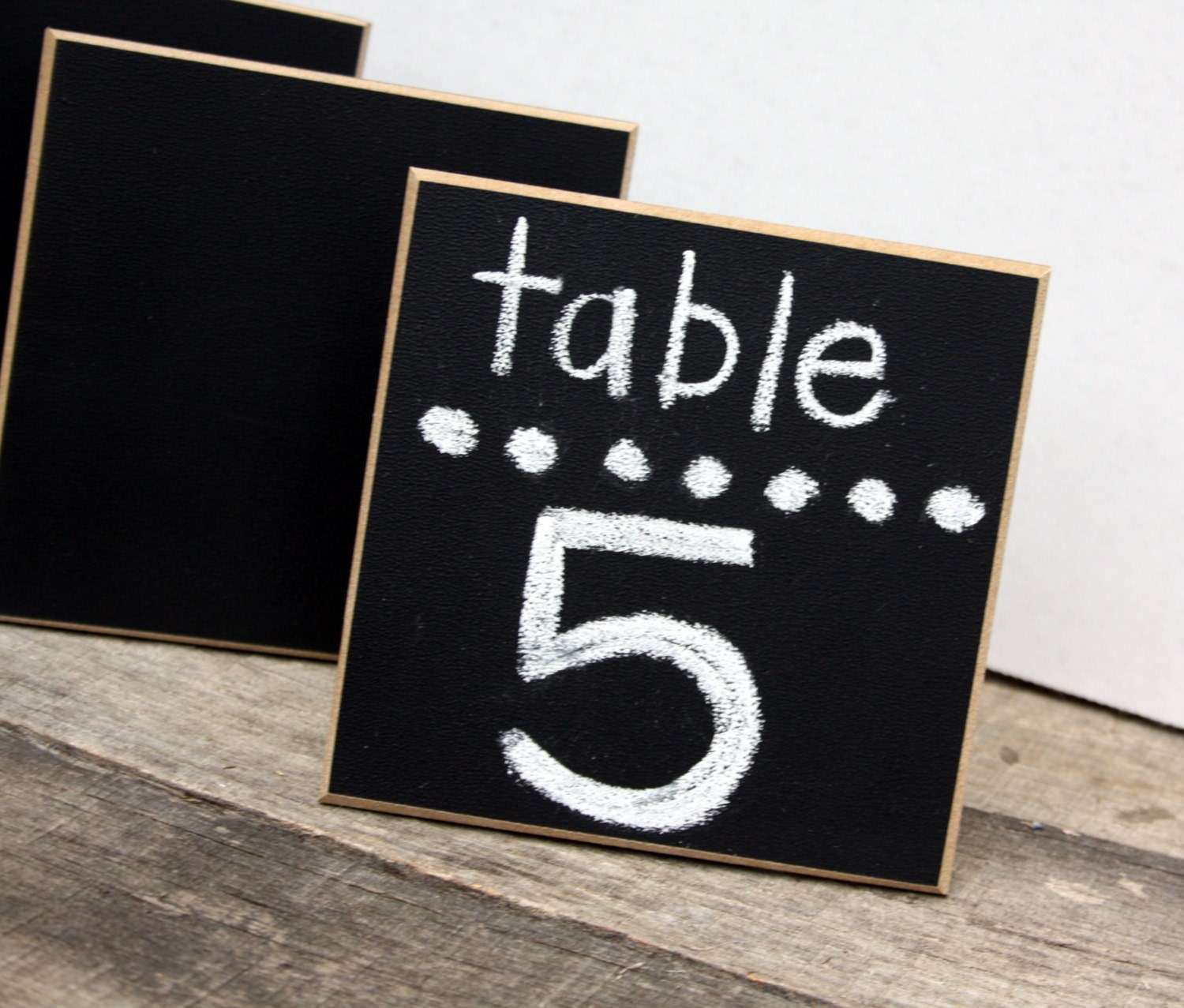 Set of 48 Chalkboard Place Cards Wedding Signs Table
