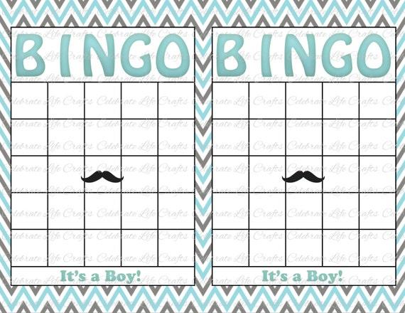 Printable Blank Baby Bingo Cards C Ile Web E Hukmedin